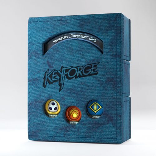 KeyForge DECK BOOK blue