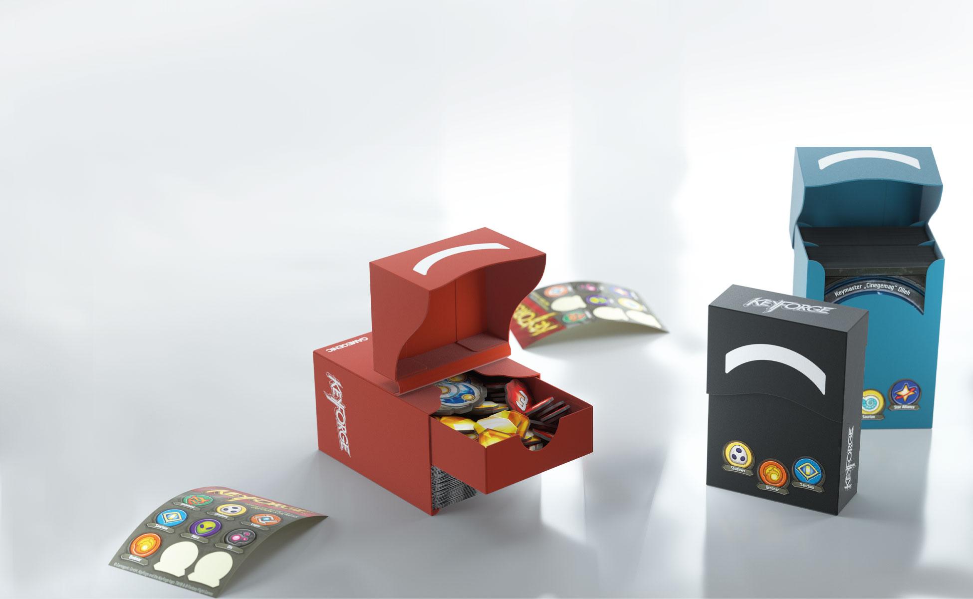 Gamegenic KeyForge® INNER SLEEVES 64 x 90mm 40