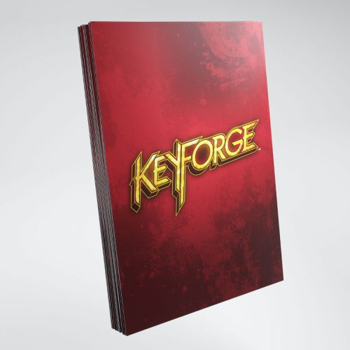 KeyForge LOGO SLEEVES red